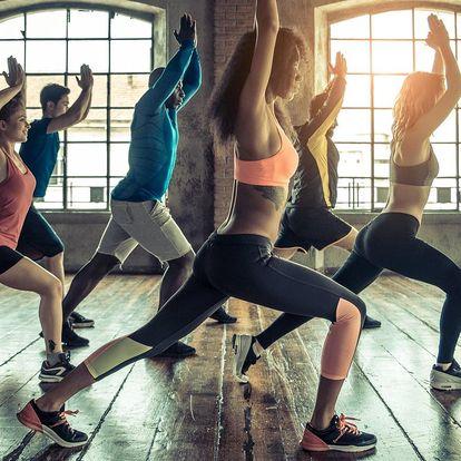 5 skupinových lekcí v dámském fitness dle výběru