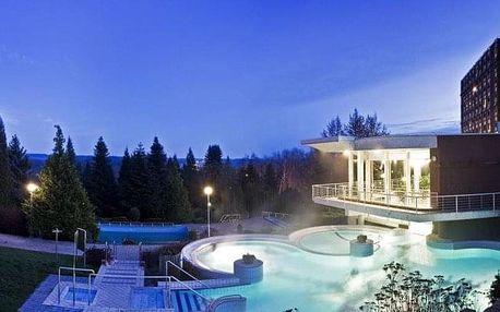 Hévíz, Danubius Health Spa Resort Aqua**** s all inclusive a termálním wellness