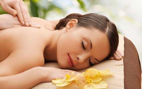 Relaxační masáž včetně aromaterapie