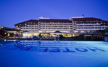 Tapolca, Hunguest Hotel Pelion s léčebnou jeskyní, wellness zónou a polopenzí