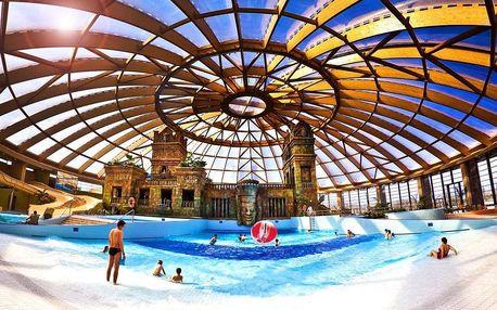 Budapešť, Aquaworld Resort s polopenzí, wellness a přímým vstupem do aquaparku