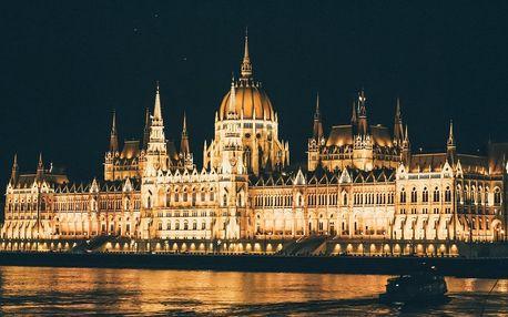 Pobyt v klidné části Budapešti v Expo Congress Hotelu**** s wellness