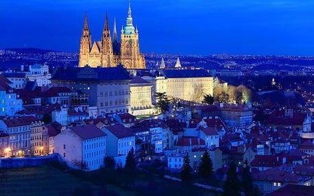 Praha blízko metra v Hotelu Popelka **** se snídaní a vstupem do aquaparku