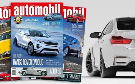 Roční předplatné časopisu Automobil 2019
