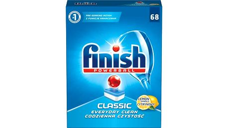 FINISH Classic Lemon 68 ks - tablety do myčky