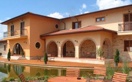 4* hotel s wellness v toskánském stylu kousek od Budapešti