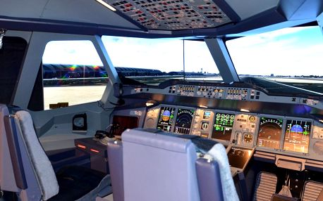 Simulátor Boeing 737: až na hodinu pilotem