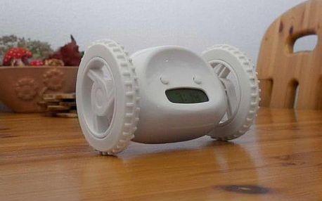 Robotický jezdící budík