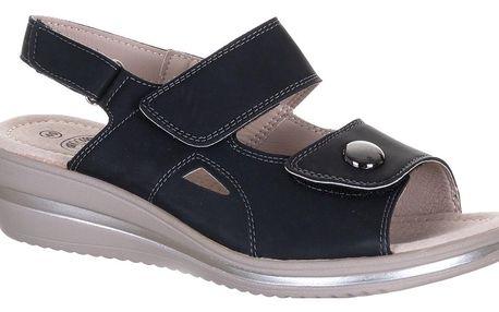 NORD Dámské sandály zdravotní na suchý zipy šíře H