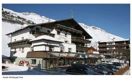 Gasthof Weisskugel ve Ventu, Tyrolsko