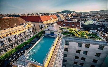 Luxusní pobyt pro dva s jedinečným wellness v Budapešti ve 4* Continental Hotelu