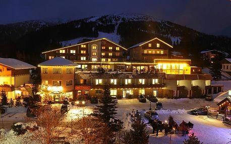 Hotel Katschberghof v Katschbergu prosinec-100 m od lanovky, Korutany