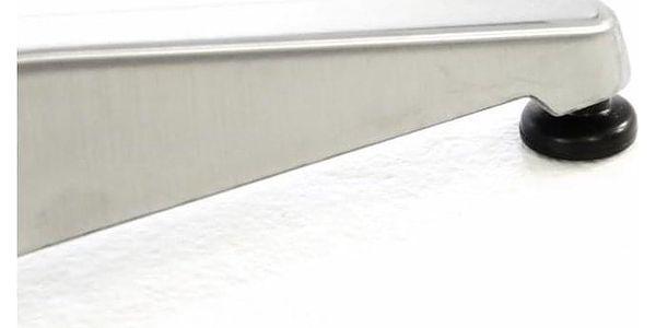Garthen 46980 Barový stůl 115 cm kulatý - stříbrný4