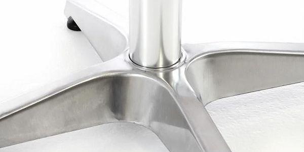 Garthen 46980 Barový stůl 115 cm kulatý - stříbrný5