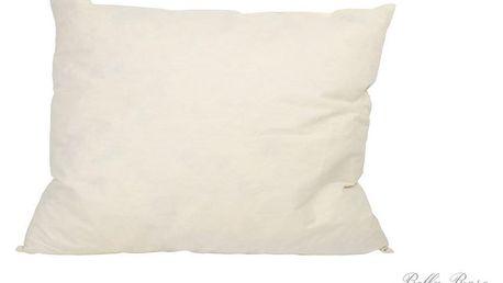 MADAM STOLTZ Péřová výplň polštáře 50 x 70, béžová barva, textil