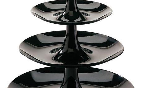 Podnos na sladkosti BABELL XS - barva černá, KOZIOL