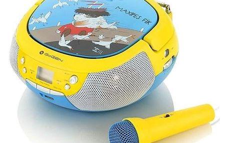 GoGEN Maxipes Fík MAXIPREHRAVAC B modrý/žlutý