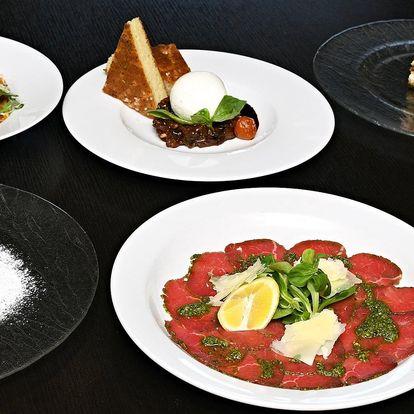 Dárkové poukazy do italské restaurace: 500–1500 Kč