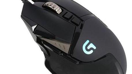 Myš Logitech Gaming G502 Proteus Spectrum černá (/ optická / 11 tlačítek / 12000dpi) (910-004617)