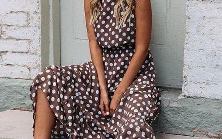 Dámské šaty bez rukávů Clematis