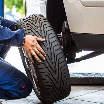 Přezutí a vyvážení kol na osobním automobilu