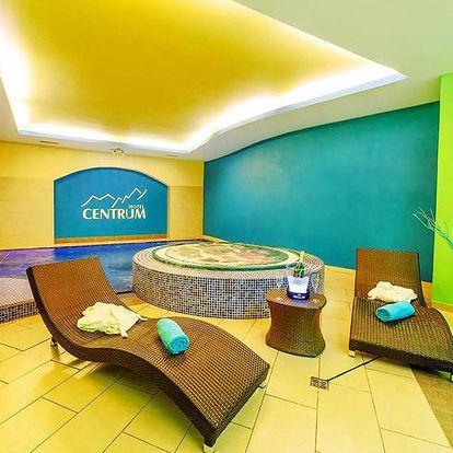 Harrachov ve 4* hotelu s bazénem, vířivkou, saunou a dalšími procedurami + polopenze