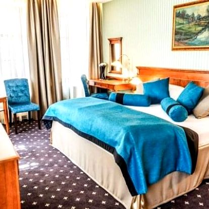 Hotel Morris Česká Lípa **** s relaxačními procedurami, wellness a polopenzí