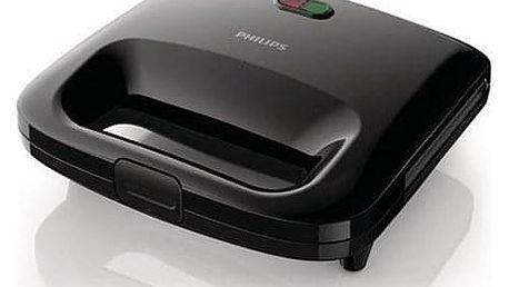 Sendvičovač Philips HD2392/90 černý