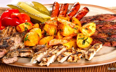 Večeře ve vinném sklípku: tatarák a steaky