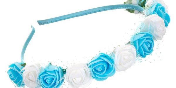 Fashion Icon Čelenka do vlasů květinová s krajkou