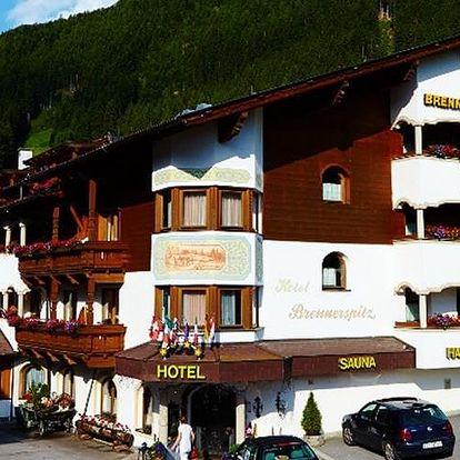 Rakousko - Stubaital na 8 dní, snídaně s dopravou vlastní