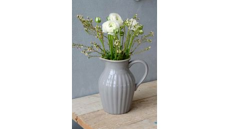 IB LAURSEN Džbán Mynte French Grey 1,7 l, šedá barva, keramika