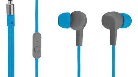 Sluchátka Trust Aurus Waterproof In-ear modré (20837)
