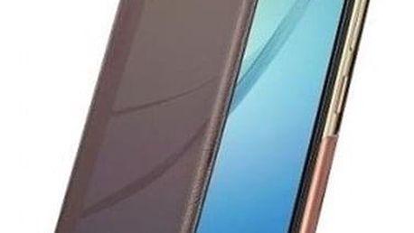 Pouzdro na mobil flipové Huawei Smart View pro Nova hnědé (51991767)