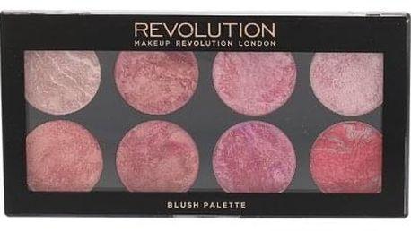 Makeup Revolution London Blush Palette 13 g paletka 8 tvářenek pro ženy Blush Queen