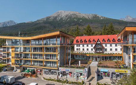 Zcela nový Hrebienok Resort v Tatrách s polopenzí