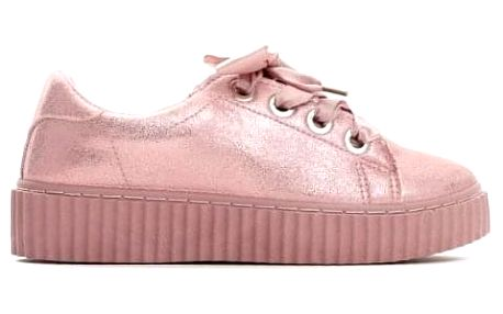 Dámské růžové tenisky Ryan 8286