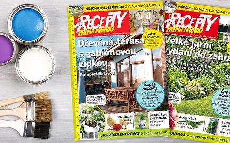Předplatné časopisu Recepty prima nápadů a bonus