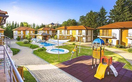Lázně Zalakaros ve 4* plně vybaveném apartmánu s polopenzí a venkovním bazénem