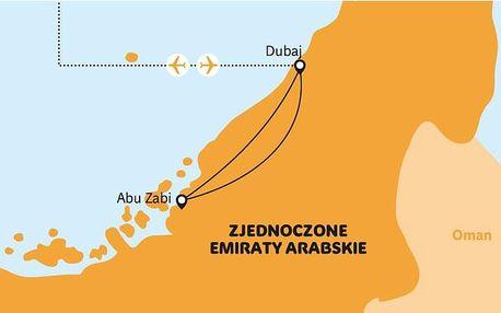 Spojené arabské emiráty - Dubaj letecky z Polska na 4-8 dnů, snídaně v ceně