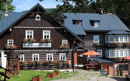 Penzion Rusalka v Krkonoších s polopenzí a wellness