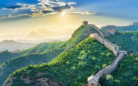 Velkolepý poklad Dálného východu, Čína, letecky, polopenze