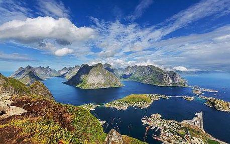 Velká cesta zemí fjordů, Norsko, letecky, snídaně v ceně