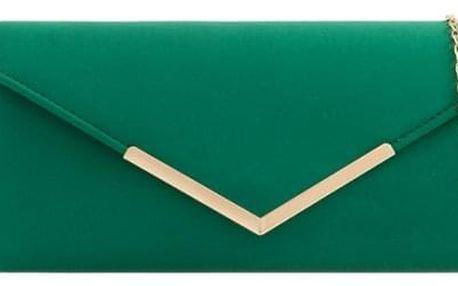 Dámské zelené psaníčko Sissi 2435