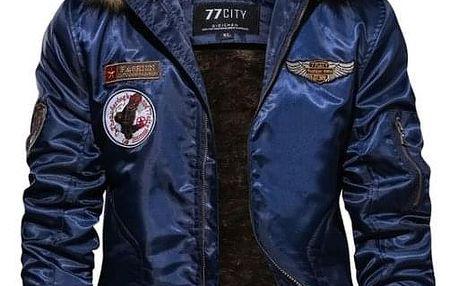 Pánská bunda Mike - Modrá-S - dodání do 2 dnů
