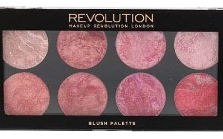 Makeup Revolution London Blush Palette 13 g paletka 8 tvářenek pro ženy Blush Queen