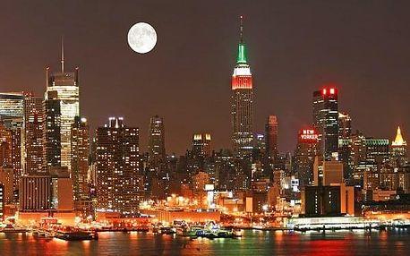 Vánoční New York, USA, letecky, snídaně v ceně