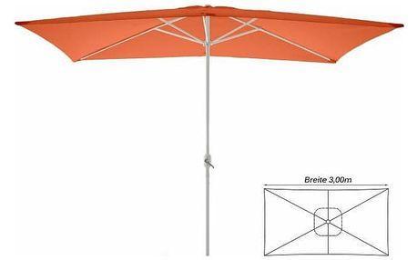 Garthen 6311 Slunečník obdélníkový 2x3 m - terakota
