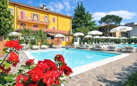 Lago di Garda na 4 a 6 dní v La Quiete Park Hotelu *** s polopenzí a bazénem
