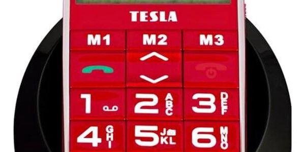 Mobilní telefon Tesla SimplePhone A50 červený (TAMBPSNA50RD)2